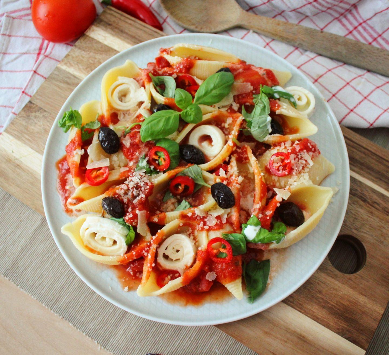 Conchiglie – Pasta mediterran