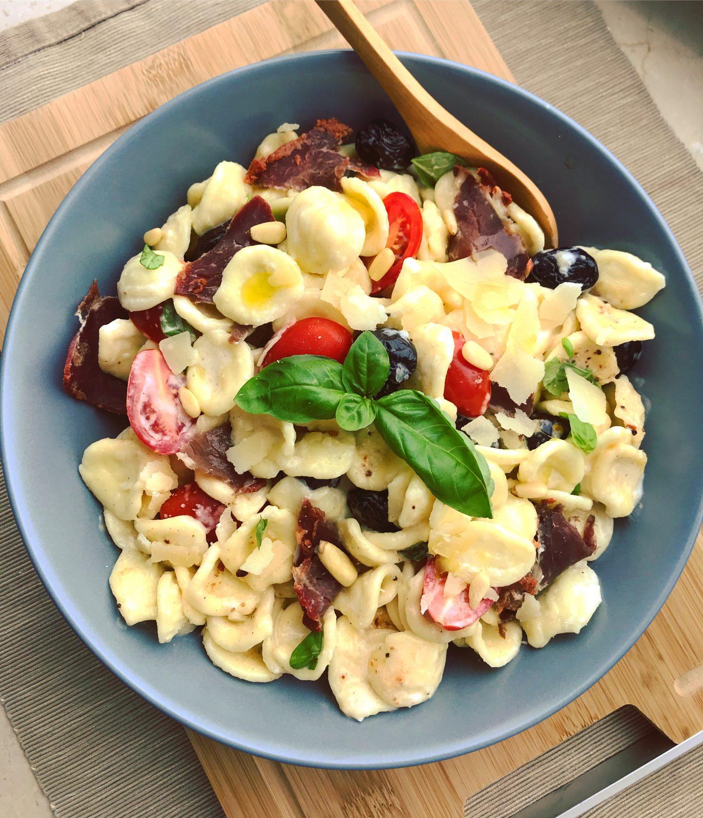 15-Minuten Parmesan-Trüffel Orecchiette