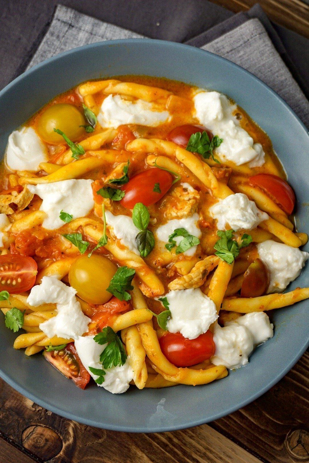 Pasta Pollo