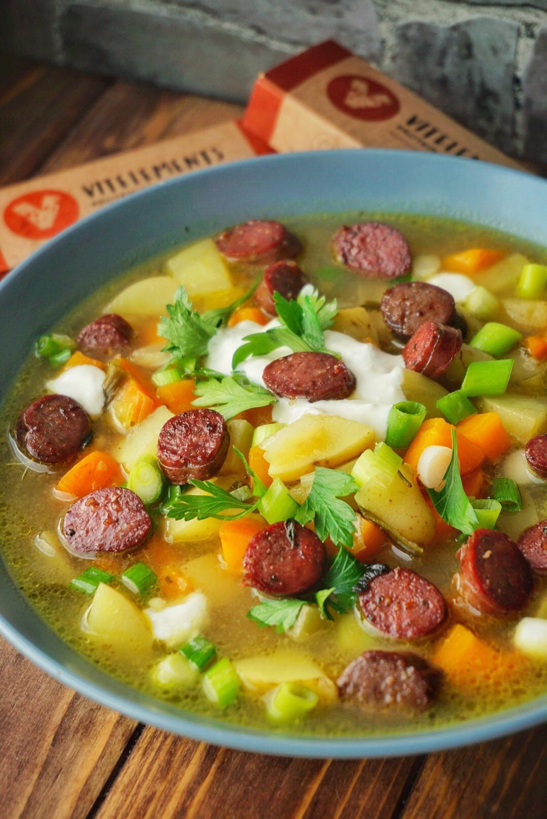 Kartoffel-Möhren-Eintopf mit Pure Beef Sticks